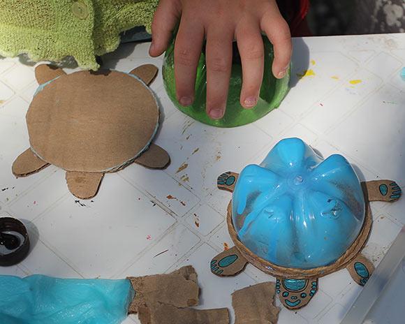 Сделать черепаху своими руками из бумаги 15